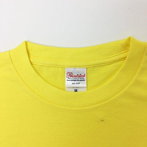 Tシャツ子煩悩イエロー☆おもしろ父の日プレゼントに最適ラッピング無料5.6ozヘビーウェイト☆Lサイズ