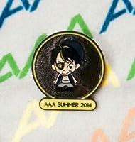 AAA グッズ 「2014 キャラクターピンバッヂ」 黄 日高光啓