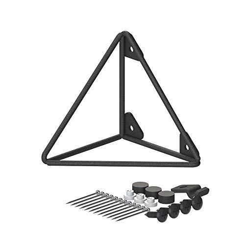 RoomClip商品情報 - 平安伸銅工業 LABRICO ウォールシェルフ トライアングルフレーム S 棚受 WPK-64 ブラック