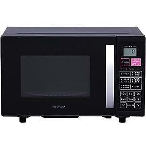 アイリスオーヤマ オーブンレンジ 16L ターンテーブル ブラック VAL-16T-B