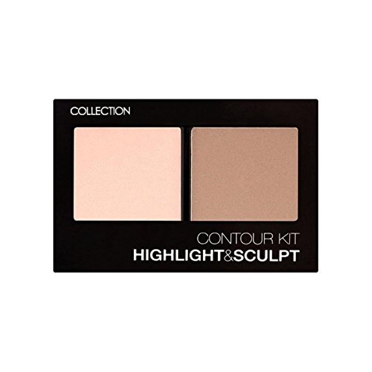 コレクション、輪郭キット輪郭キット1 x4 - Collection Contour Kit Contour Kit 1 (Pack of 4) [並行輸入品]