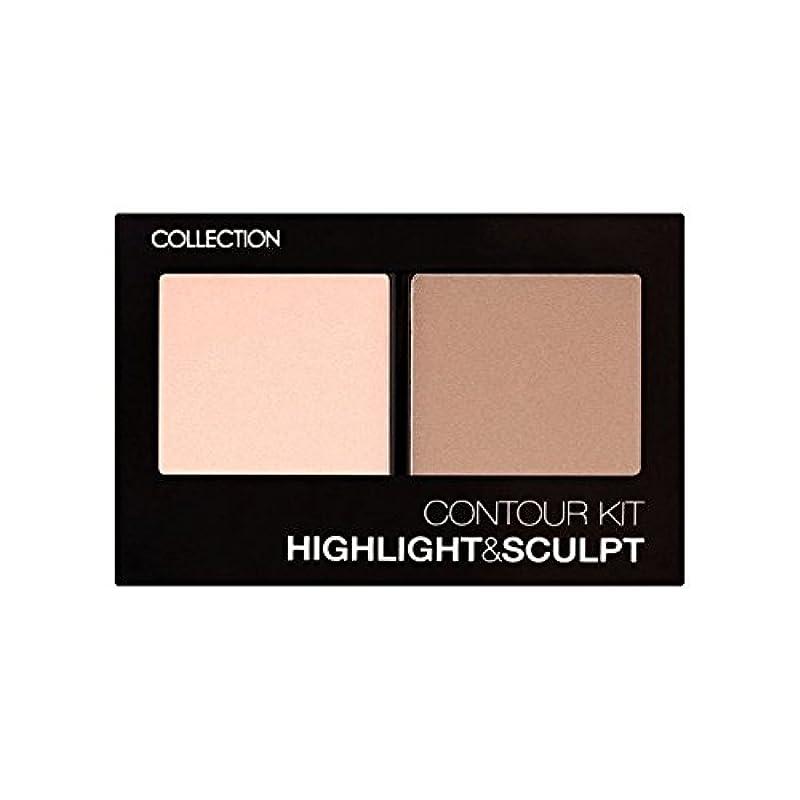 自分の著名な絶滅させるCollection Contour Kit Contour Kit 1 (Pack of 6) - コレクション、輪郭キット輪郭キット1 x6 [並行輸入品]