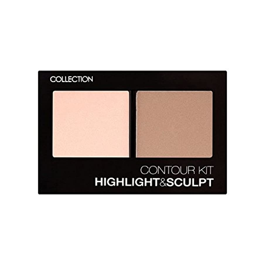 にぎやか農業呼び出すCollection Contour Kit Contour Kit 1 (Pack of 6) - コレクション、輪郭キット輪郭キット1 x6 [並行輸入品]
