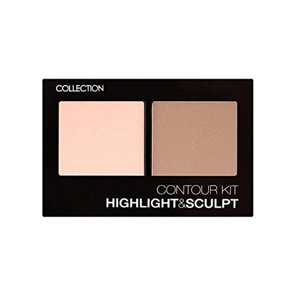 サーキュレーション聖域自治的コレクション、輪郭キット輪郭キット1 x4 - Collection Contour Kit Contour Kit 1 (Pack of 4) [並行輸入品]