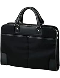 ELECOM キャリングバッグ ビジネスバッグ 薄マチ&自立タイプ 15.6インチまで対応 ブラック BM-OR03BK