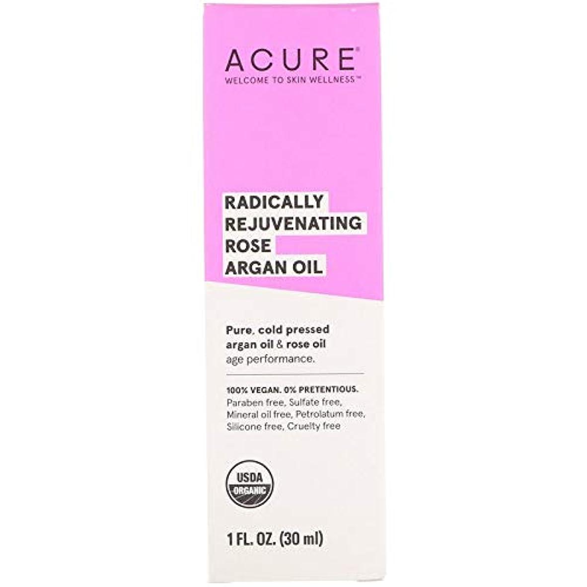 居心地の良い草干し草ACURE - ローズアルガンオイル - 3 X 30 ml[並行輸入品]JSE
