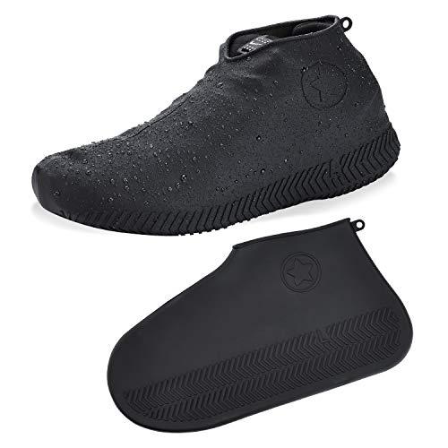 [LonperLope] シューズカバー 防水 靴カバー コンパクト軽量 携...