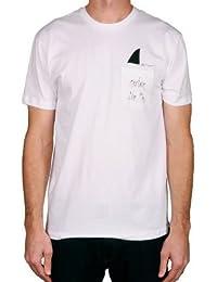 CAPTAIN FIN キャプテンフィン 半袖 ポケット Tシャツ ポケT SHARK FIN POCKET TEE - WAHITE