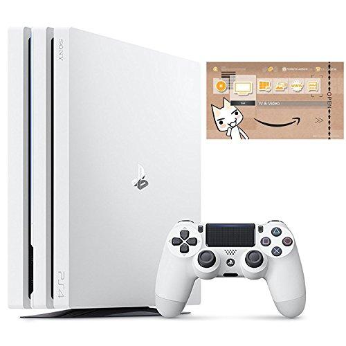 PlayStation 4 Pro グレイシャー・ホワイト 1TB (CUH-7000BB02) 【Amazon.co.jp限定】オリジナルカスタムテーマ配信