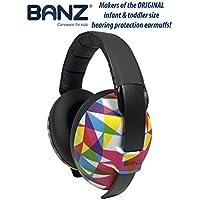 BANZ Mini Earmuffs, Geometric, Small