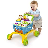 Baby Sit to Stand Walker 4段階 プレイアクティビティテーブル 幼児用スキル おもちゃのショッピングカート ごっこ遊び