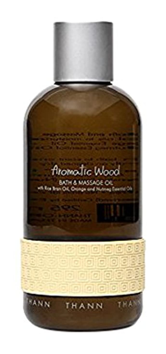 じゃがいもラインノベルティタン バス&マッサージオイルAW (Aromatic Wood)295ml
