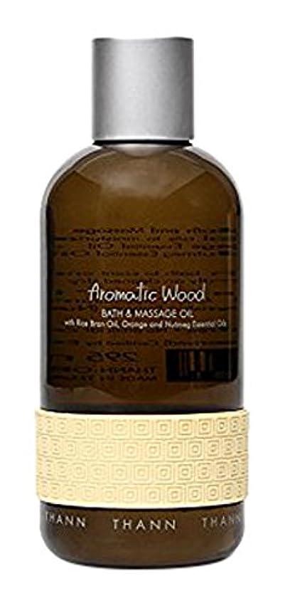事務所日記宿るタン バス&マッサージオイルAW (Aromatic Wood)295ml