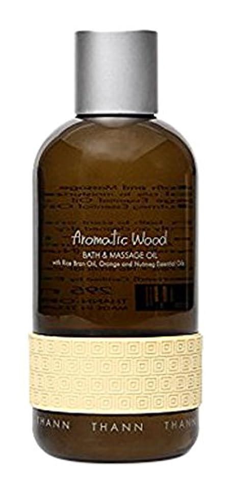 トロリーバス債権者効率的タン バス&マッサージオイルAW (Aromatic Wood)295ml