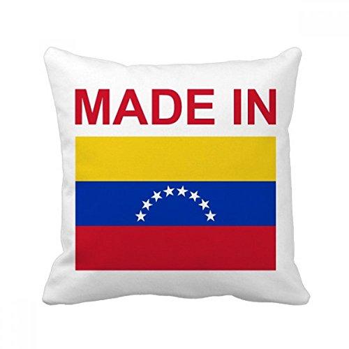 ベネズエラの国の愛で スクエアな枕を挿入してクッションカバーの家のソファの装飾贈り物 50cm x 50cm