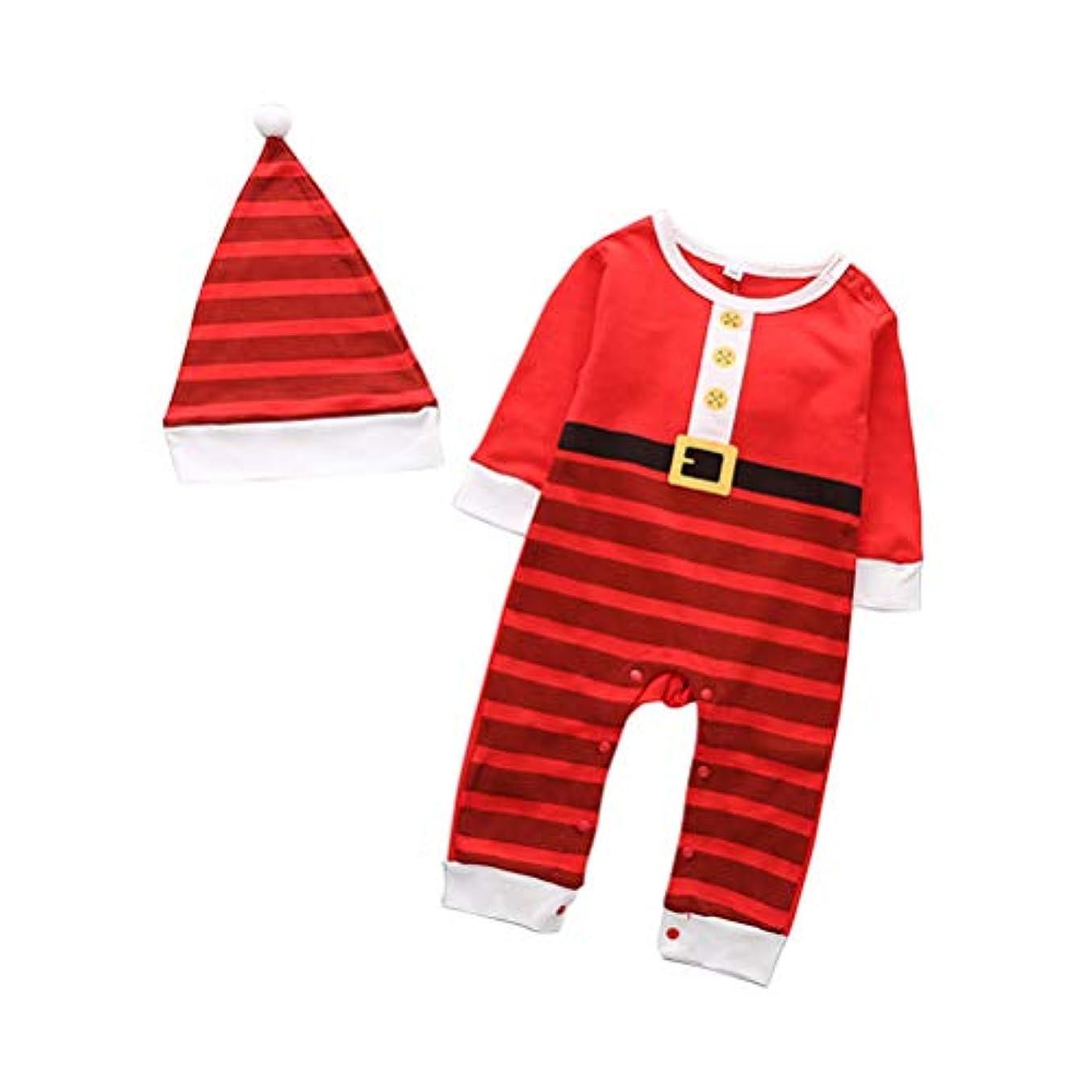数メキシコつまずく子供たち 幼児 男の子 女の子 クリスマス ロンパース スーツ - 新生児 赤ちゃん ジャンプスーツ コスチューム 服装 パジャマ Zhhlinyuan