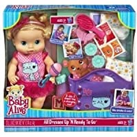 Baby Alive (ベビーアライブ) All Dressed Up N Ready To Go Doll by Hasbro ドール 人形 フィギュア(並行輸入)