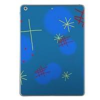 第1世代 iPad Pro 9.7 inch インチ 共通 スキンシール apple アップル アイパッド プロ A1673 A1674 A1675 タブレット tablet シール ステッカー ケース 保護シール 背面 人気 単品 おしゃれ キラキラ イラスト 青 012633