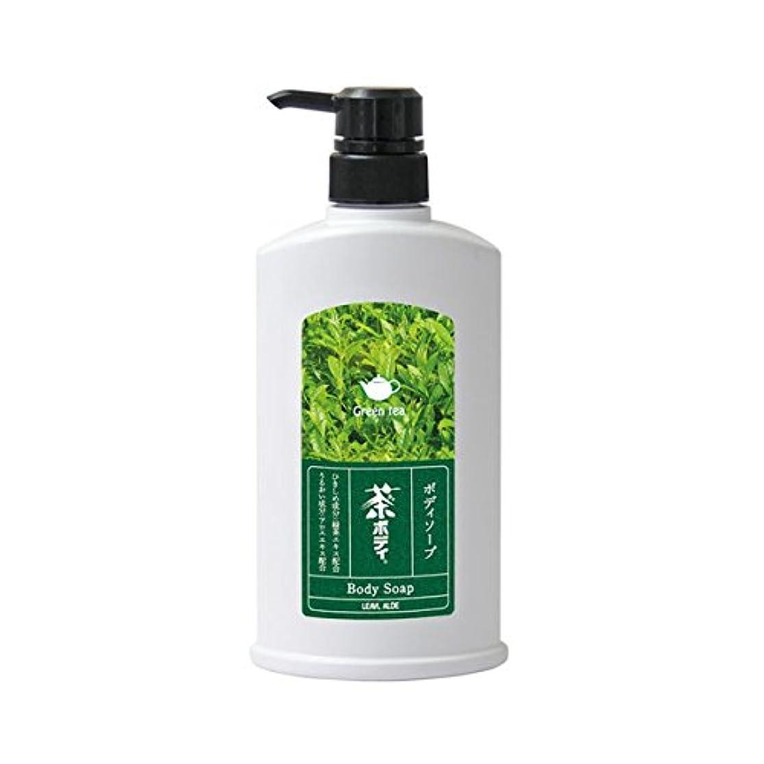 漁師スキム行商フタバ化学 茶ボディソープ 500ml
