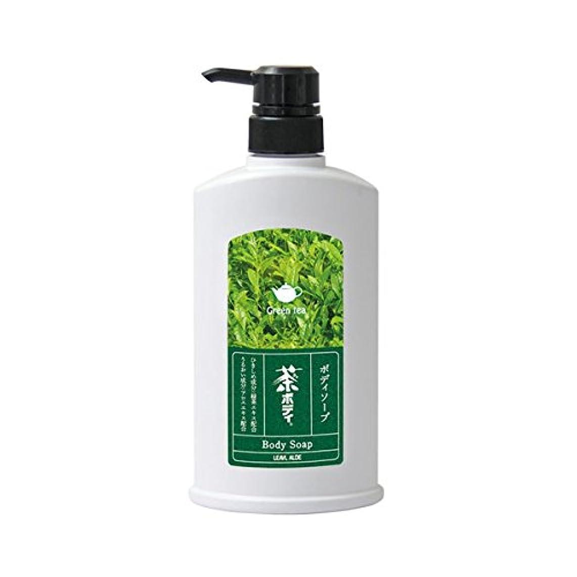 集団的バトル蒸気フタバ化学 茶ボディソープ 500ml