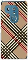 液晶保護フィルム付き arrows Be3 F-02L アローズ ビースリー 対応 docomo スマートフォンケース TPU ソフト カバー ケース 小物 アクセサリー チェック(type004)