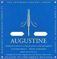 AUGUSTINE BLUE SET×5セット オーガスチンクラシックギター弦 ブルー