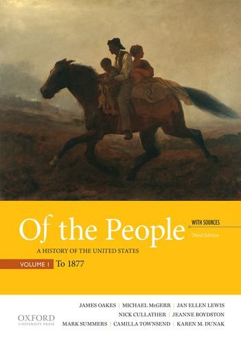 Download Of the People: A History of the United States With Sources to 1877 0190254882