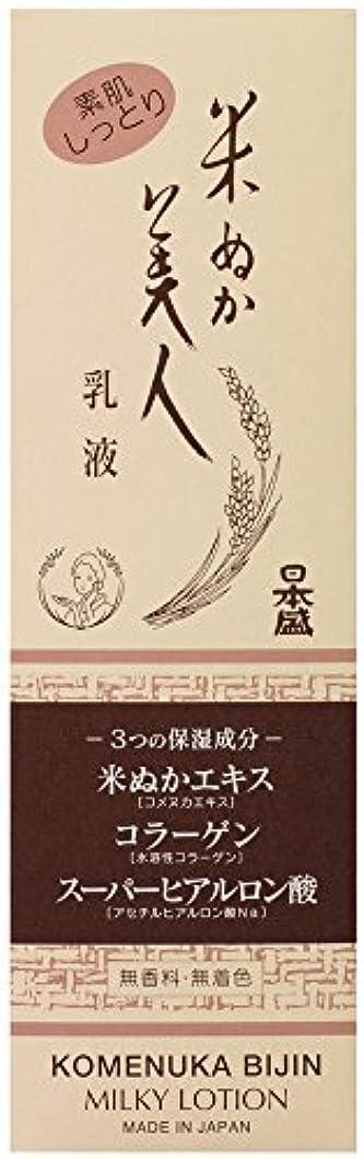 マウンド社会学手書き米ぬか美人 乳液