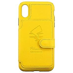 グルマンディーズ ポケットモンスター iPhoneXR(6.1インチ)対応カードフラップケース ピカチュウ poke-624a