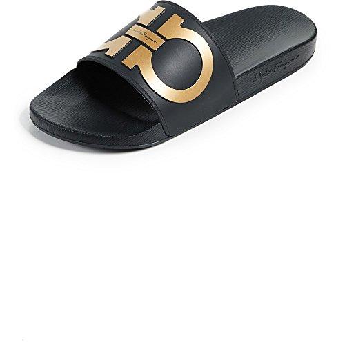 (サルヴァトーレ フェラガモ) Salvatore Ferragamo メンズ シューズ・靴 サンダル Groove 2 Slides [並行輸入品]
