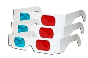 DIDA 紙製フレーム3Dメガネ家族や友達みんなで3Dを楽しもう! 3Dメガネ 10個セット