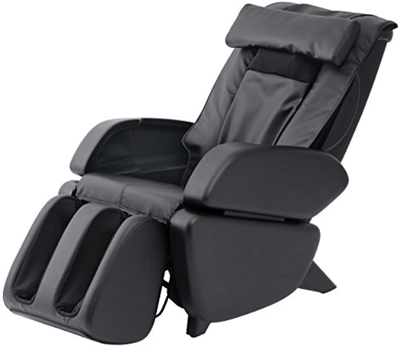 乳白無視するワイドスライヴ マッサージチェア くつろぎ指定席 「つかみもみ機能搭載」 ブラック CHD-9000(K)