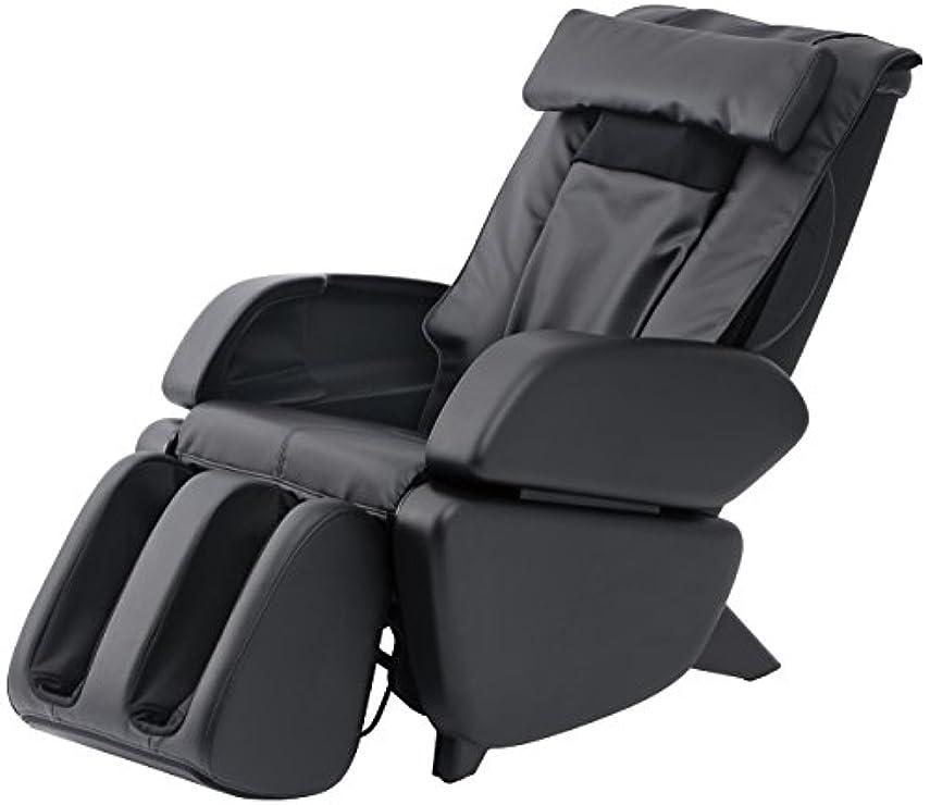 トースト眼閉塞スライヴ マッサージチェア くつろぎ指定席 「つかみもみ機能搭載」 ブラック CHD-9000(K)