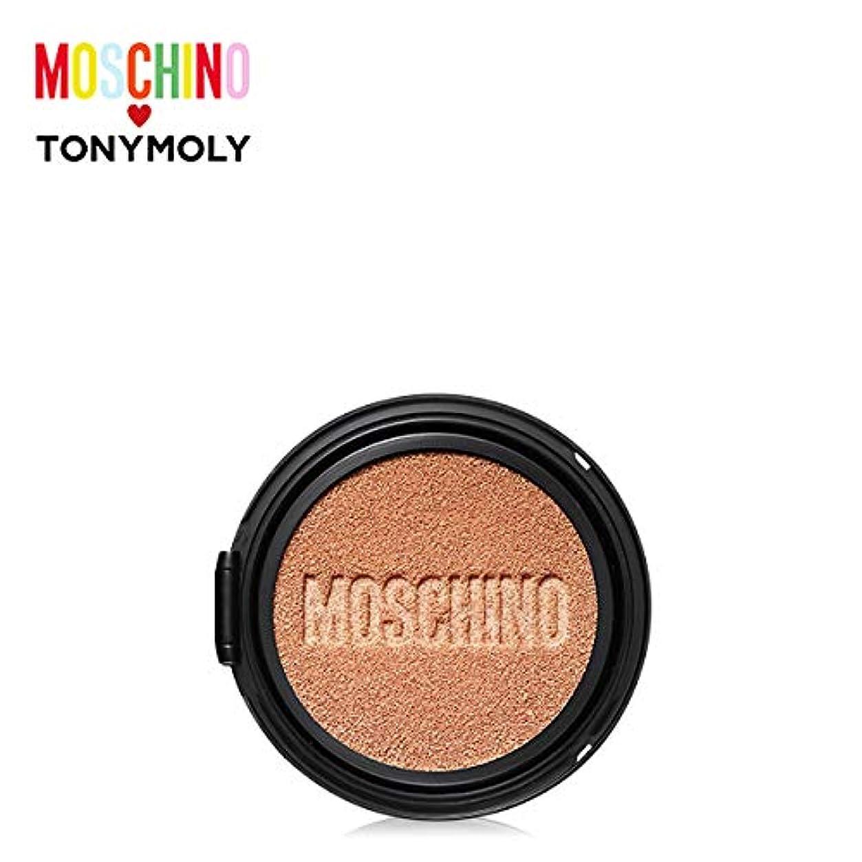 アサーばかげたサーカスTONYMOLY [MOSCHINO Edition] Gold Edition Chic Skin Cushion -Refill #01 CHIC VANILLA トニーモリー [モスキーノ] ゴールドエディション...