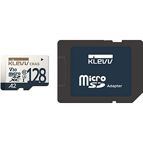『KLEVV microSDXC 128GB UHS-I U3 V30 A2 最大読込:100MB/s 4K対応 Nintendo Switch 動作確認済 永久保証 K128GUSD6U3-CA』の6枚目の画像