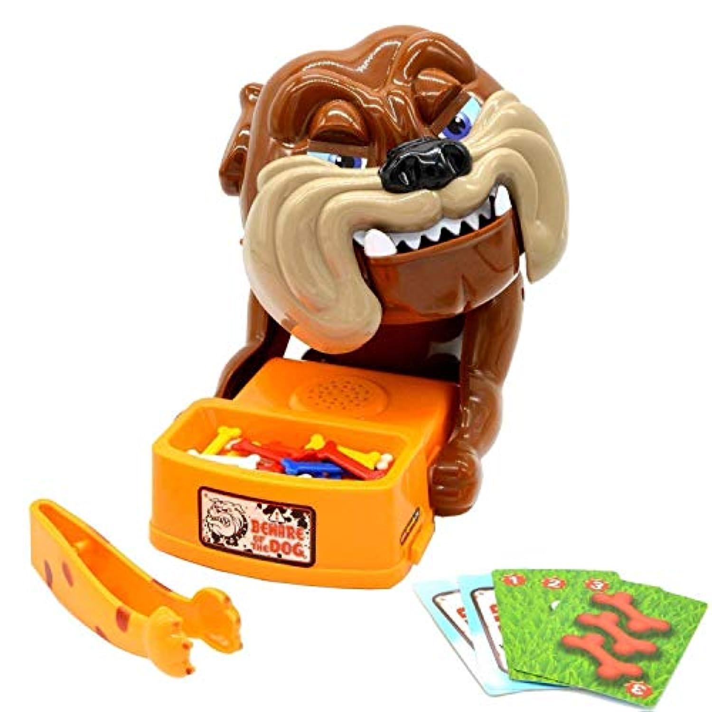 億騰 危機一発ゲーム パーティーゲーム 犬 ワンちゃん 噛みつき ワイワイ楽しい 口歯咬合おもちゃ 家族で、カップルで、お友達と、ワイワイ楽しい!