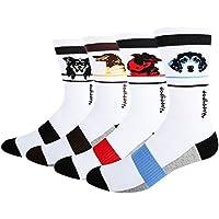 Men's Argyle Colorful Dress Trouser Socks Funny Crazy Art Patterned Cotton Crew Socks