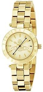[ヴィヴィアン・ウエストウッド]VivienneWestwood 腕時計 ウエストボーン ゴールド文字盤 ステンレス(YGPVD) VV092GD レディース 【並行輸入品】