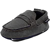 Nautica Tiny Pryson, Baby Prewalker, Slip-On Crib Penny Loafer, Toddler/Infant Soft Sole Shoes