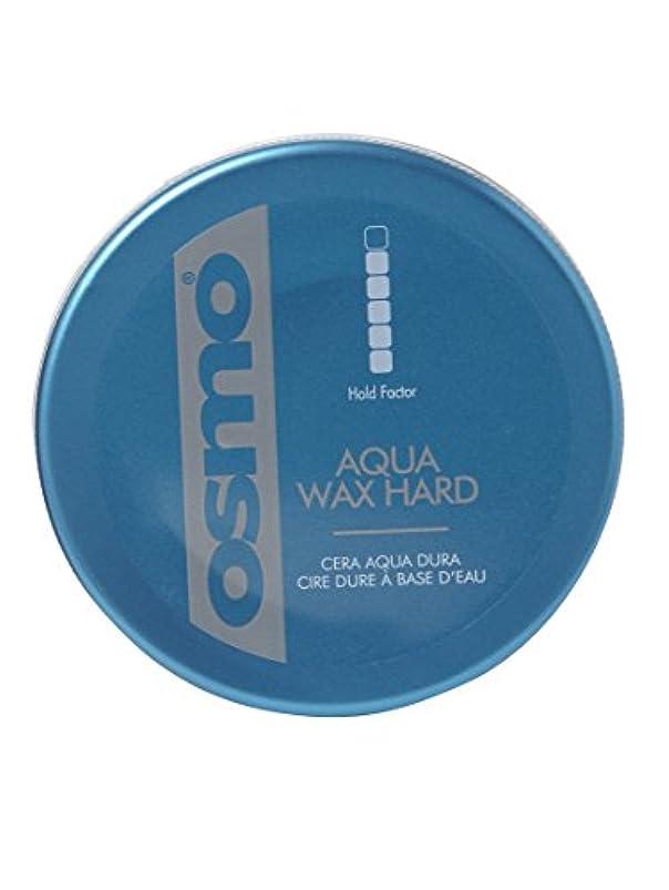 突破口ラインナップ未使用Osmo Aqua Wax Hard - For An Incredible Shine And Strong Hold - 100ml