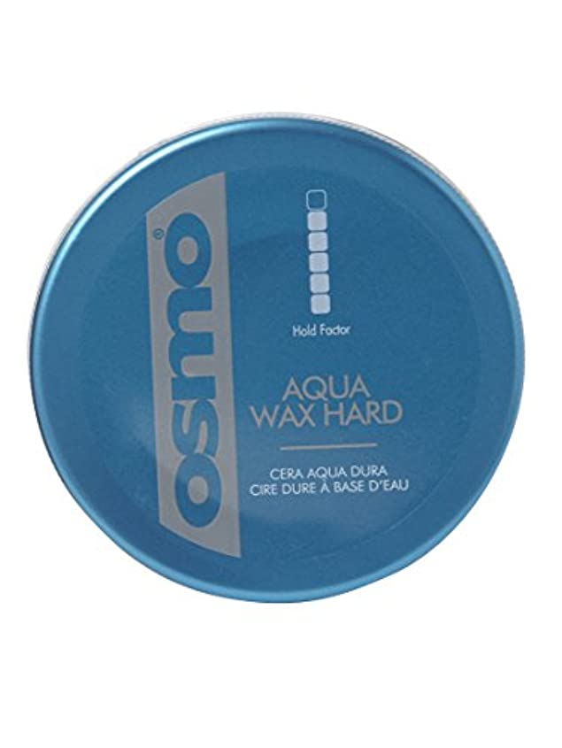 提供する揮発性縮約Osmo Aqua Wax Hard - For An Incredible Shine And Strong Hold - 100ml