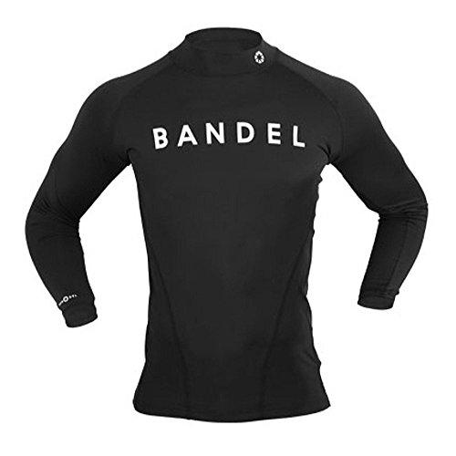 반델 [일본정품] [일본정품] 로우 넥 스트레치 T셔츠 둥근 목 모양 긴 소매 블랙-