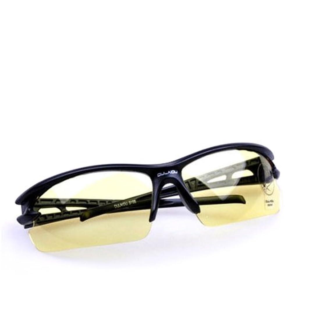 反対名前を作る支援するスポーツサングラス サングラスUVカット 6カラー UV400 超軽量 軽量 ユニセックス スポーツ メガネ