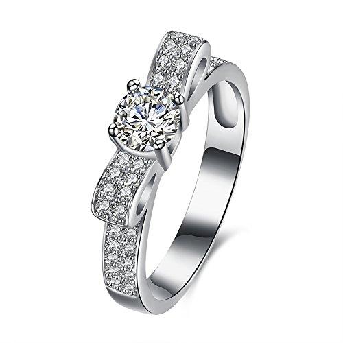 [해외]Rockyu 주얼리 브랜드 925 반지 여성 원주민 인기 액세서리 플래티넘 지르코니아 CZ 실버 반지 실버 반지/Rockyu jewelry brand silver 925 ring ladies native American popular accessories platinum zirconia CZ silver ring silver ring