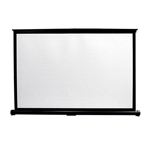 Mirai-JP 50インチ(4:3) ポータブル スクリーン 自立式床置き型 アルミ合金枠携帯式 プレゼン・小型会議・展示会用