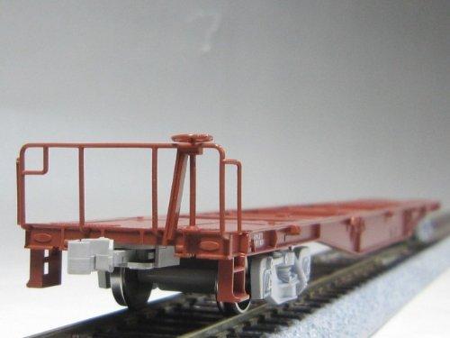 TOMIX HOゲージ HO-713 JR貨車 コキ50000形 (コンテナなし・グレー台車)