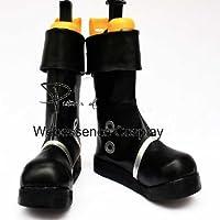 AB027 ワンピース ONE PIECE ポートガス・D・エース 火拳のエース 風 コスプレブーツ コスプレ靴