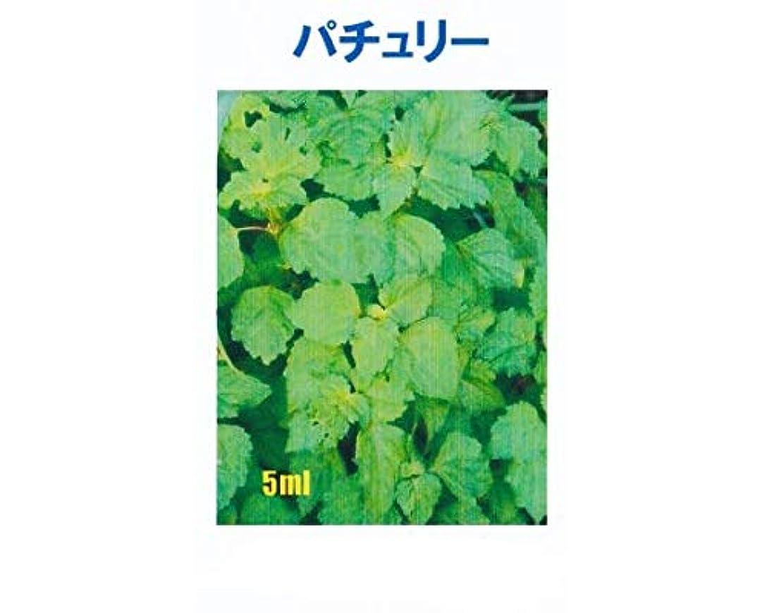 粗い亜熱帯最適アロマオイル パチュリー 5ml エッセンシャルオイル 100%天然成分