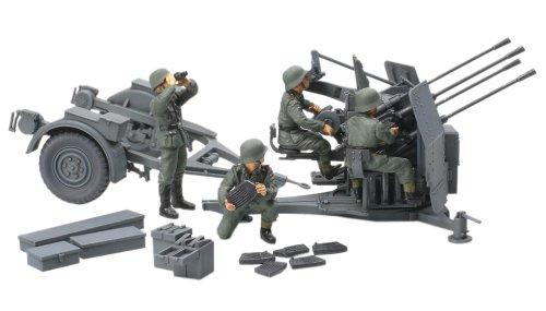 1/48 ミリタリーミニチュアシリーズ No.54 ドイツ20mm4連装 高射機関砲38型 32554