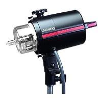 Norman lh-2400b 2500WS基本的な樹脂Lamphead with r9124BlowerとプラグインFlashtube & 250Wクォーツモデリングランプ